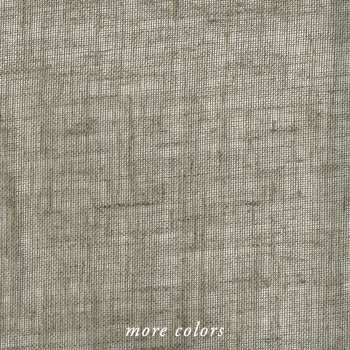LINEN HEAVY MESH FABRIC BY-THE-YARD