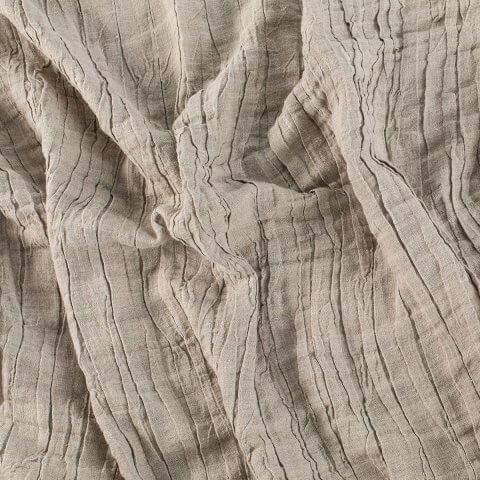 Anichini Linen Plissé Fabric By The Yard