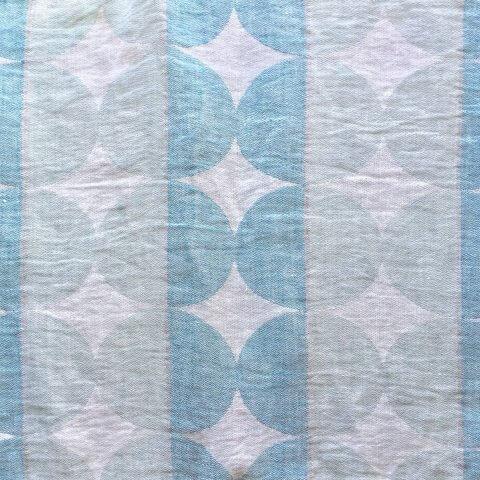 Anichini Yutes Collection Contorno Modern Graphic Linen Fabric