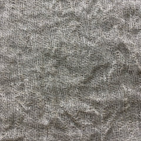 Anichini Yutes Collection Copenhague Crinkled Sheer Linen Fabric