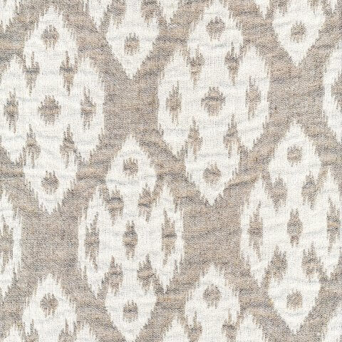 Anichini Yutes Collection Tokkat Small Diamonds Linen Matelassé Fabric