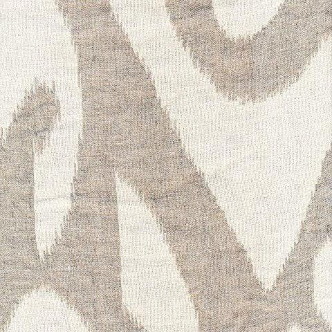 Yutes Collection Tokkat Super Large Ikat Linen Matelassé Fabric