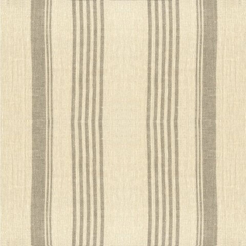 Anichini Olga Heavy Weight Striped Linen Fabric By The Yard