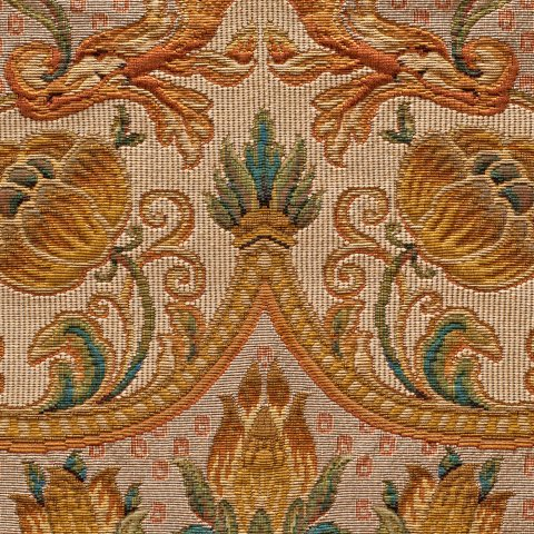 Anichini Ottoman Turkish Tapestry Fabric By The Yard