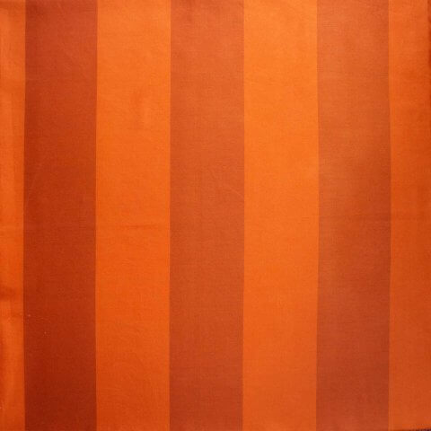 Anichini Persia Wide Stripe Jacquard Fabric By The Yard In Orange