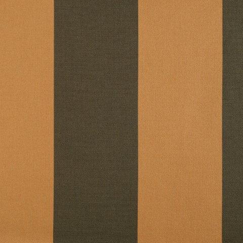 Anichini Persia Wide Stripe Jacquard Fabric By The Yard In Camel