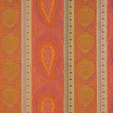 Anichini Taj Paisley Jacquard Fabric By The Yard
