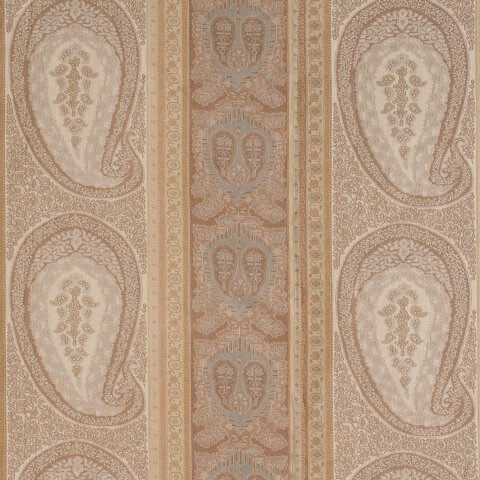 Anichini Taj Paisley Jacquard Fabric By The Yard In Neutral