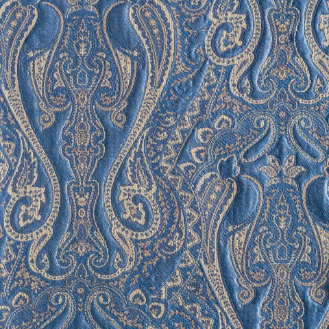 Anichini Tibet Paisley Matelassé Fabric By The Yard