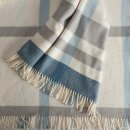Anichini Hospitality Checks Washable Cotton Blend Throws
