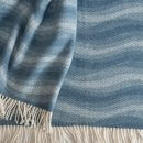 Anichini Hospitality Waves Washable Cotton Blend Throws