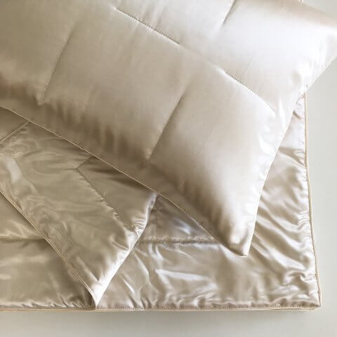 Anichini Helios Silk Sateen Quilts, Throws, and Shams