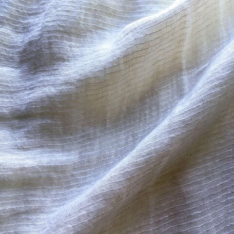 Abril Sheer Pinstripe Linen Fabric