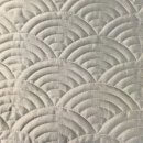 Anichini Hospitality Scalloped Pattern Quilted Bedding | Quilts, Runners, And Pillows For The Top Of Bed