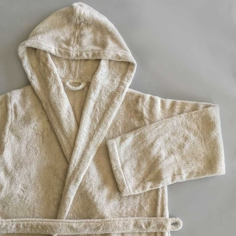 Anichini Hospitality Organic Spa Hooded Robe