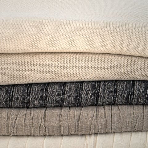 Anichini Linen Piqué Coverlets & Shams