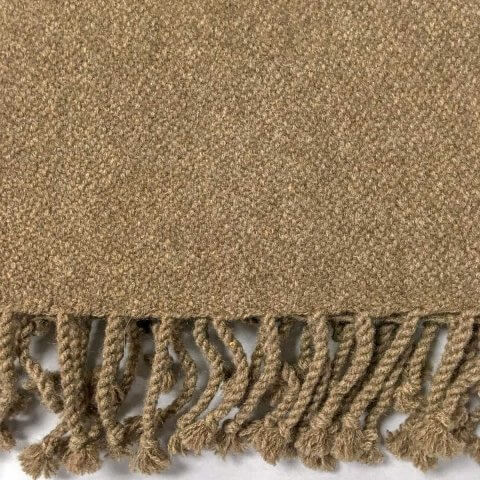 Anichini Yak Blend Handwoven Cashmere Throw