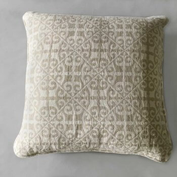 Anichini Tokkat Tile Design Linen Pillows