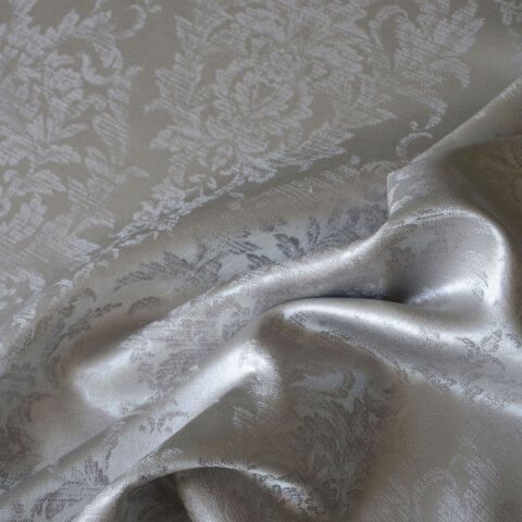 Anichini Korona Silk Sateen Sheets in Ash