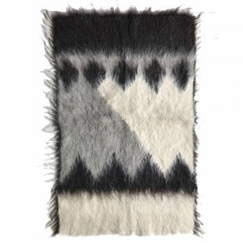 Anichini Diamond Small Brushed Wool Rug