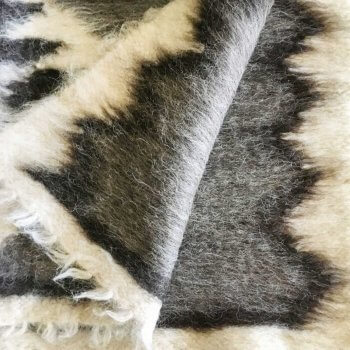 Anichini Diamonds #4 Brushed Wool Rugs