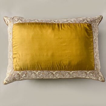 Anichini Arab Zara Rare Finds Hand Embroidered Silk Pillows