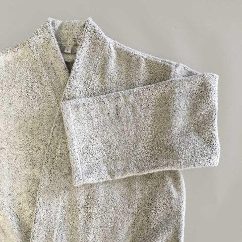 Anichini Vilnius Solid Linen Terry Robes