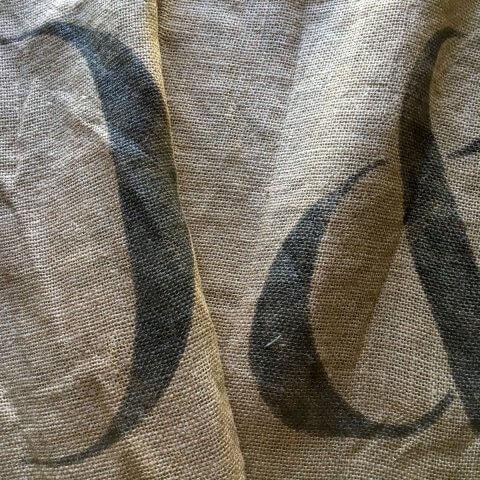 Anichini Yutes Amberes Tossa Jute Feed Sack Fabric