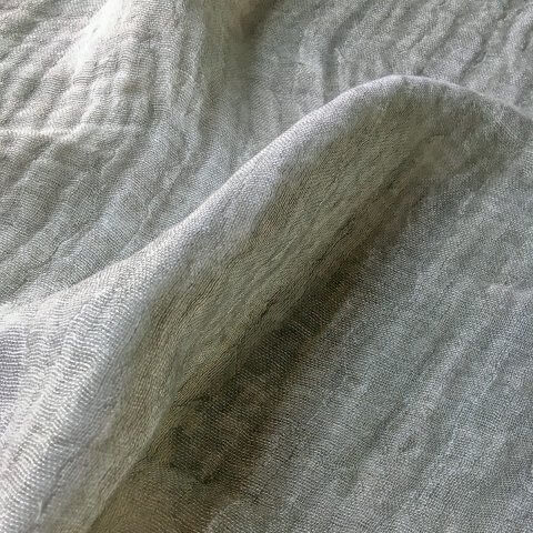 Anichini Yutes Collection Ona Wide Width Linen Gauze Fabric In 02 Ivory