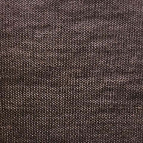 Anichini Yutes Collection Tibi Soft Linen Upholstery Fabric In 13 Chocolate