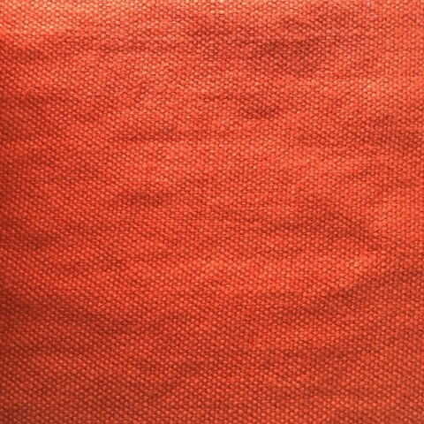Anichini Yutes Collection Tibi Soft Heavyweight Linen Fabric in 42 Orange