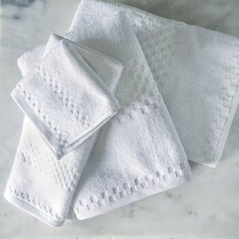 Anichini Fairfield Luxury Turkish Terry Hotel Towels
