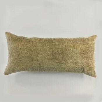 Anichini Horus Linen Velvet Pillows In Celery