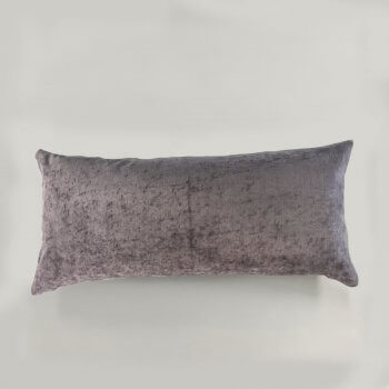 Anichini Horus Linen Velvet Pillows In Lavender