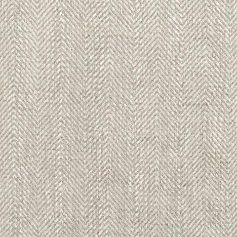 Anichini Herringbone Linen Shower Curtains