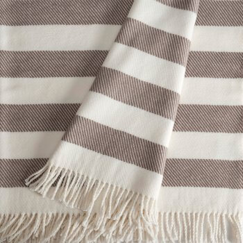 Candy Stripe Throw