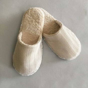 Anichini Hospitality Organic Spa Slippers