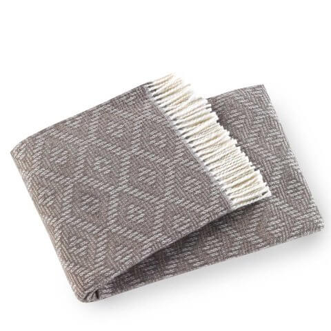 Aisha Washable Cotton Blend Throws | ANICHINI Hospitality