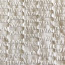 Anichini Yutes Collection Alba Matelassé Jacquard Fabric In Off White