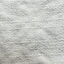 Anichini Yutes Collection Barroco Solid Basket Weave Linen Fabric In Ivory