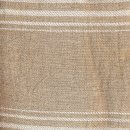 Anichini Yutes Collection Turquesa Striped Twill Weave Linen Fabric
