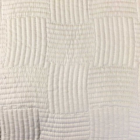 Anichini Hospitality Basket Weave Quilted Bedding   Quilts, Runners, And Pillows For The Top Of Bed
