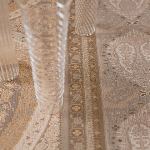 Anichini Taj Paisley Jacquard Table Linens