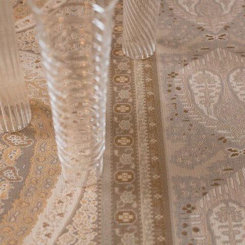 Anichini Taj Paisley Jacquard Table Linens