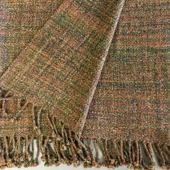 Anichini Coco Multicolor Heather Handwoven Cashmere Throws