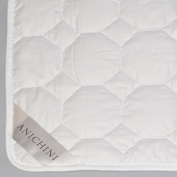 Anichini Natural Unbleached Cotton Mattress Pads