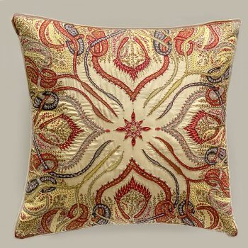 Anichini Omar Khayam Rare Finds Hand Embroidered Silk Pillows