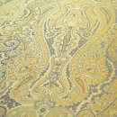 Anichini Kashmir Paisley Italian Jacquard Fabric In Camel
