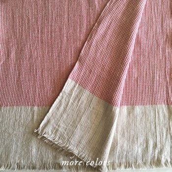 CAMILE LINEN BED THROWS