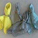 Anichini Nuplauti Herringbone & Rhomb Weave Table Linens
